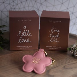 'Live Laugh Love' Written Word Candle
