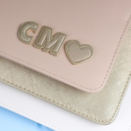 Personalised 'Good As Gold' Metallic Gold Perfect Pouch