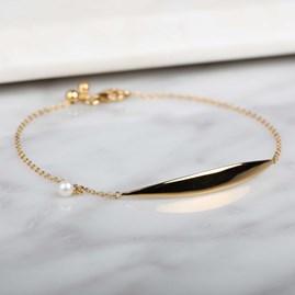 Stunning Crescent And Charm Bracelet