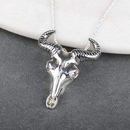 Stunning Silver Or Gold Wildebeest Pendant