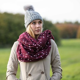 Katie Loxton Knitted Bobble Hat