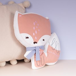 Cuddly Fox Cushion