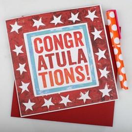 'Congratulations' Greetings Card