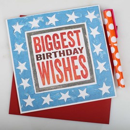 'Biggest Birthday Wishes' Birthday Card