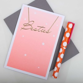 'Bestie' Birthday Card
