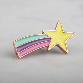 'Superstar' Enamel Pin And Card