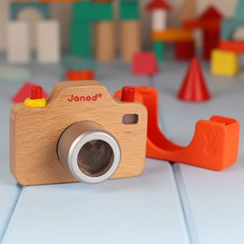 Sound Camera Wooden Toy
