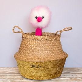 Jellycat Pompom Raspberry Ripple Large Soft Toy