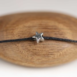 'Don't Look Back…' Star Wish Bracelet