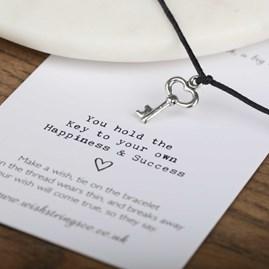 'The Key To Success' Wish Bracelet