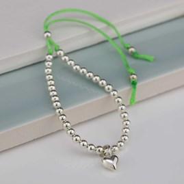 Children's Silver Friendship Bracelet