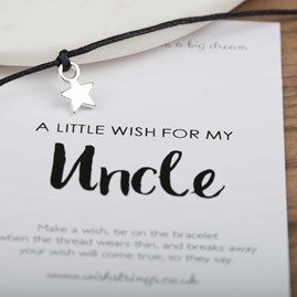 Little Wish 'Uncle' Star Wish Bracelet