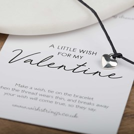 Little Wish 'Valentine' Heart Wish Bracelet