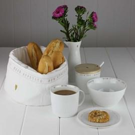 Porcelain Breakfast Cereal Bowl