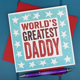 'World's Greatest Daddy' Card