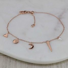 Five Charms Bracelet