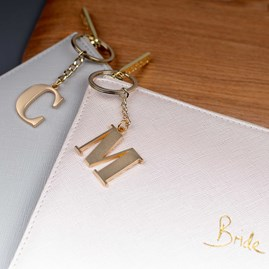 Katie Loxton Personalised 'Be Brilliant' Rose Pewter Perfect Pouch