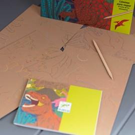 Scratch Board Drawings