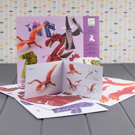 Paper Toys - Dragons and Chimeras
