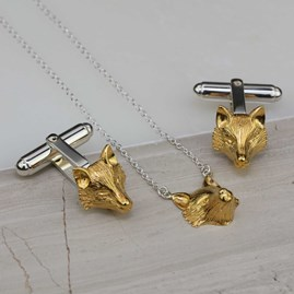 Gold Fox Pendant