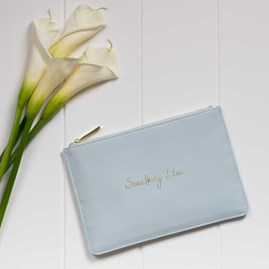 Personalised 'Something Blue' Perfect Pouch