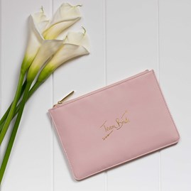 Katie Loxton Personalised 'Team Bride' Perfect Pouch