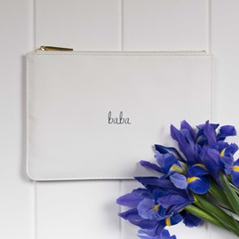 Katie Loxton Personalised Luxe Star Dust 'Baba' Perfect Pouch