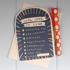 'With Love On Your…' Special Greetings Card