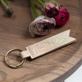 Katie Loxton 'Marvellous Mum' Gold Keyring