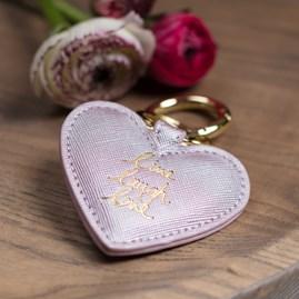 'Live, Laugh, Love' Lilac Keyring