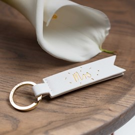 Katie Loxton 'Mr' And 'Mrs' Flag Keyring