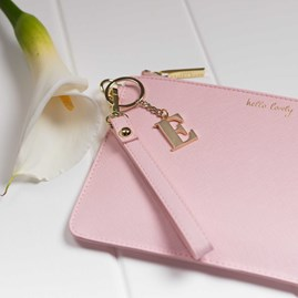 Katie Loxton Personalised 'Hello Lovely' Secret Saying Clutch Bag