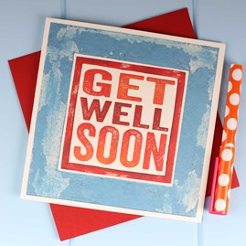 'Get Well Soon' Card