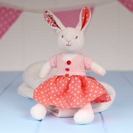 Cuddly Newborn Soft Toy Rabbit