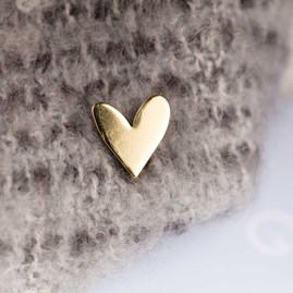 'Heart Of Gold' Greetings Card With Heart Pin