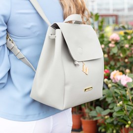 Katie Loxton Personalised Bea Back Pack In Grey