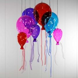 Hanging Mirrored Bright Balloon Lights