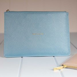 Personalised 'Time To Shine' Blue Perfect Pouch