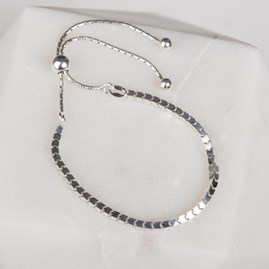 Box Chain Slider Bracelet