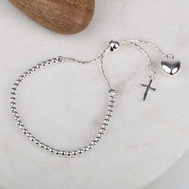 Children's Silver Christening Bracelet
