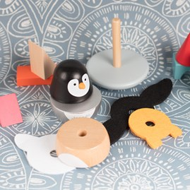 Zigolos Penguin Stacker and Rocker