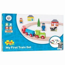 Wooden My First Train Set