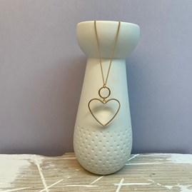 Bold Heart Pendant