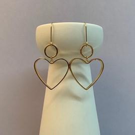 Bold Heart Earrings