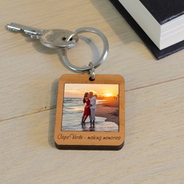 Personalised Key Ring With Photo