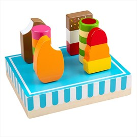 Wooden Ice Lollies Play Food