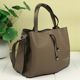 Tote Bag In Taupe