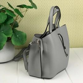 Tote Bag In Silver