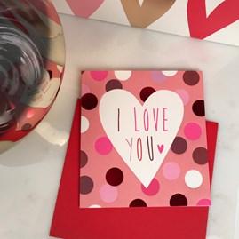 Caroline Gardner 'I Love You' Card