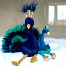 Jellycat Fancy Peacock Soft Toy
